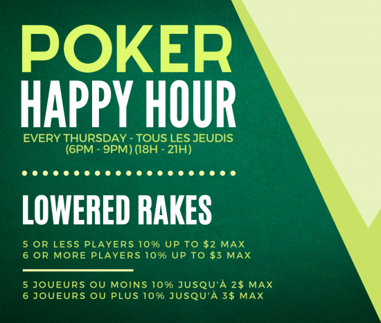 Poker Happy Hour